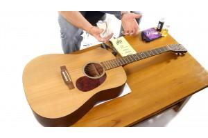 Cách làm sạch bụi bẩn trên đàn guitar