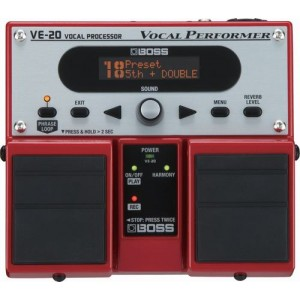 BOSS VE-20 cục phơ cho guitar Solo & Guitar Bass