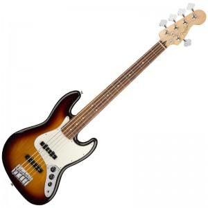 Guitar Bass Fender Player Jazz Bass V Pf 3Ts 0149953500