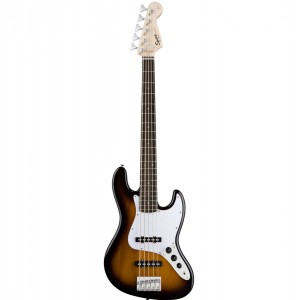 Guitar Bass SQUIER AFFINITY JAZZ BASS V, BROWN SUNBURST 0301575532