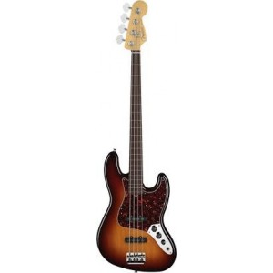 Guitar Bass FENDER AMERICAN STANDARD JAZZ BASS® FRETLESS-0193800700