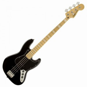 Guitar Bass FENDER AMERICAN SQ VM JAZZ BASS '77 BLK - 0307702506
