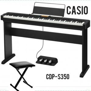 Đàn Piano điện Casio CDP-S350 + CS46