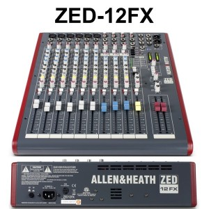 Mixer ALLEN & HEATH ZED12FX