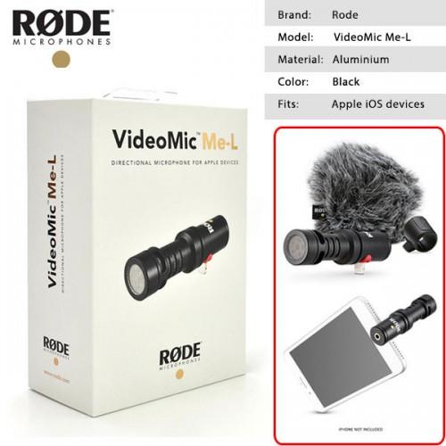 Micro RODE Videomic ME-L dành cho iphone