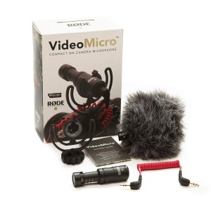 Rode Videomicro micro cho máy ảnh