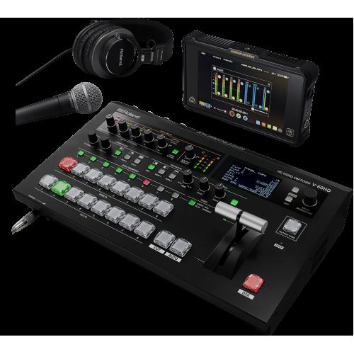 Bàn trộn hình ảnh và âm thanh Roland V-60HD
