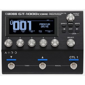 phơ guitar boss GT1000 CORE