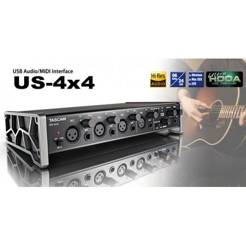 Tascam US-4x4