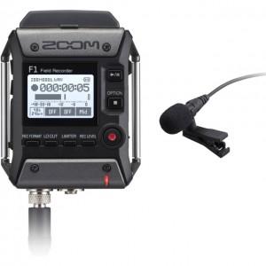 Máy ghi âm không dây cài áo Zoom F1-LP