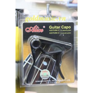 Capo guitar Acoustic Alice A007D/BK-A