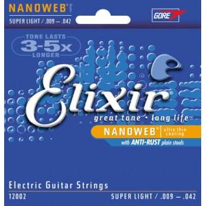 Dây đàn guitar điện Elixir 12002