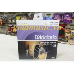 Dây Đàn Guitar Acoustic - D'Addario EJ13