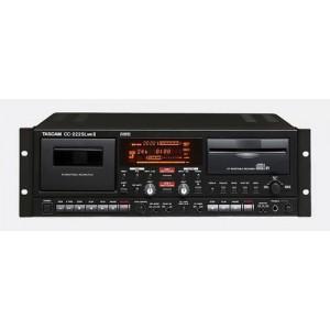 Đầu ghi đĩa CD/Cassette TASCAM CC-222SL