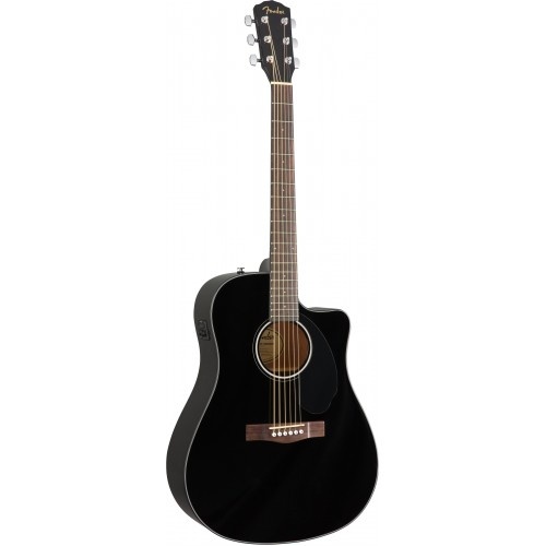Đàn guitar Fender CD-60SCE BLK - 0961704006