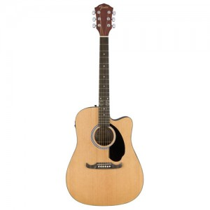 Đàn guitar Fender 0961113021 FA-125CE Dreadnought, Natural